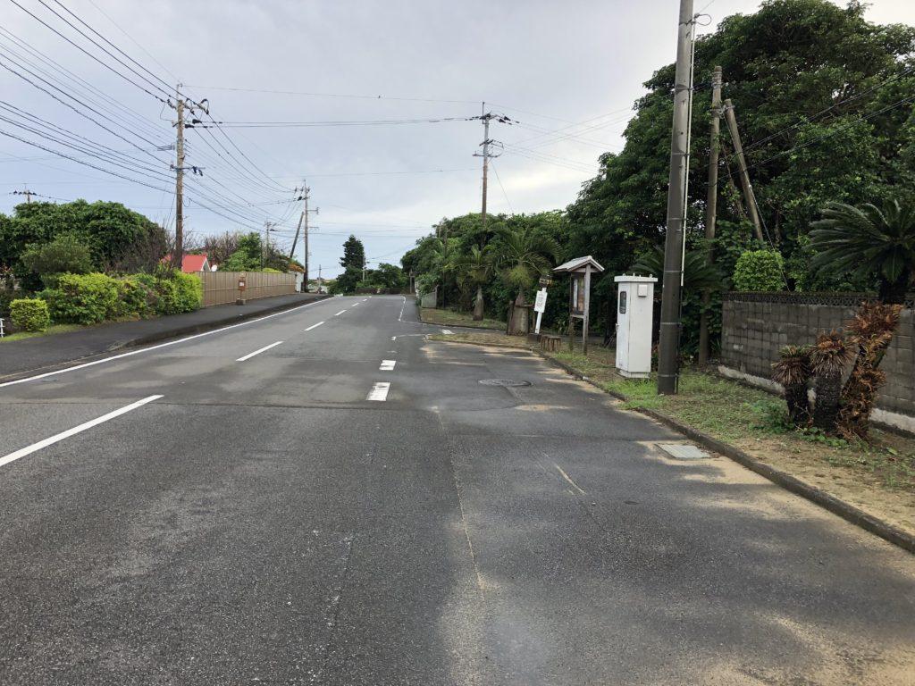 奄美大島土盛バス停